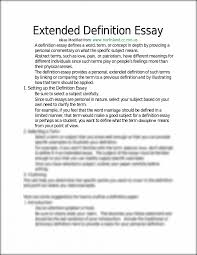 examples of extended definition essays extended definition essay sample analysis essay outline for definition argument essay extended definition essay outline outline for definition argument