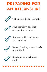 acing the internship make the most out of your next internship preparing for an internship
