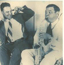 the sultan of sax babe ruth shows lou gehrig his saxophone skills babe ruth shows lou gehrig his saxophone skills