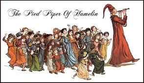 Image result for pied piper of hamelin statue