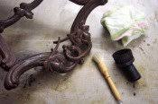 cleaning antique furniture use a soft brush for carvings to get the dust out antique furniture cleaning