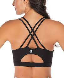 RUNNING GIRL Strappy Sports <b>Bra</b> for Women, <b>Sexy</b> Crisscross ...