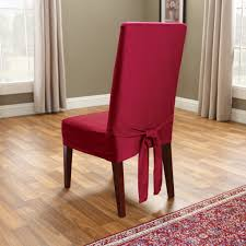 Red Dining Room Chair Covers Chair Slipcovers Dining Decorate