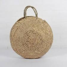 Florence Shopper Basket | <b>Round straw bag</b>, Basket <b>bag</b>, Medium ...