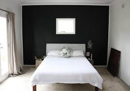 top black wall paint on decoration with awesome black painted