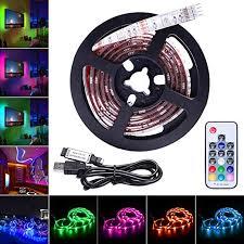 AVAWAY <b>LED</b> Strip Lights <b>RGB</b>, <b>USB</b> Powered 5V <b>SMD 5050 LED</b> ...