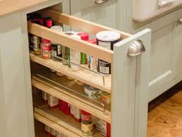 Kitchen Cabinet Slide Out Kitchen Shelf Storage Racks Upper Cabinet Pull Out Spice Rack