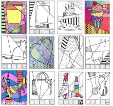 Small Picture 97 best Pop art images on Pinterest Art lessons Pop art and School