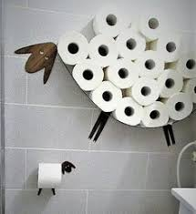 Set: Wall shelf for storing of toilet <b>paper rolls</b> and toilet <b>roll holder</b> ...