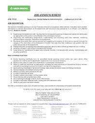 office manager description sample resume for management position office manager description sample resume for management position dental samples