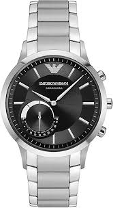 Emporio <b>Armani</b> Men's Hybrid Connected <b>Smartwatch</b> with Stainless ...