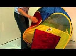 Как сложить детскую <b>палатку</b> — Видео   ВКонтакте