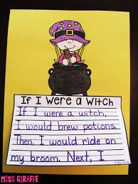 This is a creative writing activity that can be used all year long  But  it     s really fun to plan it for Halloween in October  Included in this writing unit Pinterest