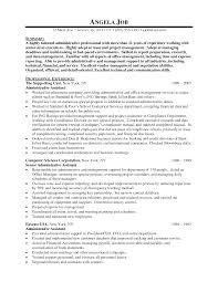 cover letter template for administrative assistant resume  resume