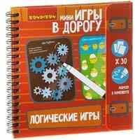 «<b>Компактные</b> развивающие <b>игры в</b> дорогу Bondibon логические ...
