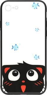 Чехол-накладка TOTO Cartoon Print Glass Case Apple iPhone <b>7</b>/8 ...