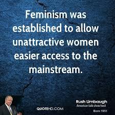 Rush Limbaugh Quotes About Women. QuotesGram via Relatably.com