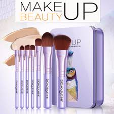<b>7PCS</b>/<b>SET</b> Women <b>Makeup Brushes</b> Set Face Cosmetic Beauty Eye ...
