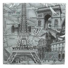<b>Салфетки бумажные New</b> Line Париж 20 шт, 33х33 см в Москве ...