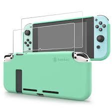 tomtoc Nintendo Switch <b>Liquid Silicone Case</b> | Green | tomtoc