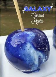 Galaxy Candied Apples | <b>Candy apple</b> recipe, Gourmet candy ...