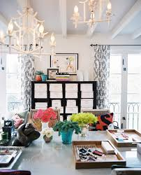 desk organization ideas home office eclectic with balcony bold colors bookcase beautiful bright office