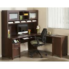 cheap l shaped desk with hutch and storage ideas plus computer set and black armchair cheap l shaped office desks