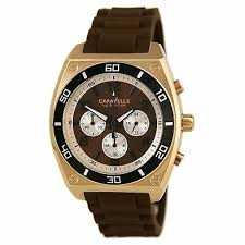 <b>Caravelle New York</b> by Bulova 45A114 Mens Brown Dial ...