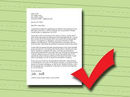 how to write a retirement letter 14 steps pictures