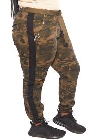 Genx - Womens <b>Plus Solid</b> Camouflage <b>Casual</b> Side Stripe Belted ...