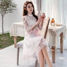 2019 的 <b>Gauze</b> splicing dress <b>female summer</b> 2019 <b>new</b> Korean ...