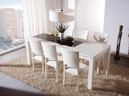 Dining Room Chairs White Dining Room Stunning Dining Area Design Implemented With Plain