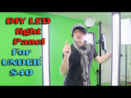 diy led light panel how to build video photography studio lighting cheap build video studio