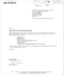 appointment letter printable documents appointment letter