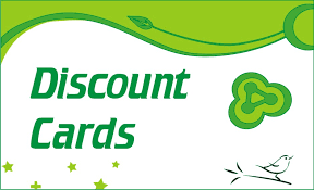 Image result for image of discount cards