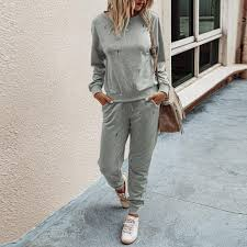 [LV] Women <b>Fashion Leisure Time</b> O-neck Sweater Athletic Wear ...