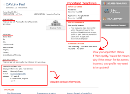 how to apply for a job in cavlink uva career center 4 in the top right corner of the description you will see information on applying to the position some positions only require a cavlink application