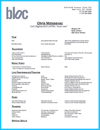 the best and impressive dance resume examples collections how to dance resume template