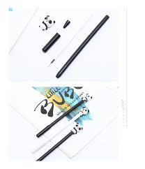<b>12Pcs</b>/Set <b>Cute</b> Kawaii Panda Animal Gel Pens Blue Black Ink ...