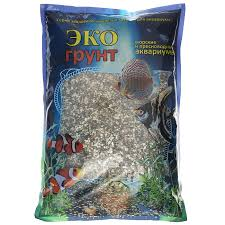 """<b>Галька реликтовая</b> """"<b>ЭКО</b> грунт"""", для аквариумов, 2-5 мм, 3,5 кг ..."""