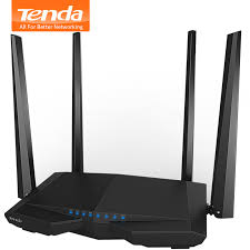 <b>Tenda AC6</b> 1200Mbps Smart Dual Band 802.11AC 2.4G/5.0GHz ...