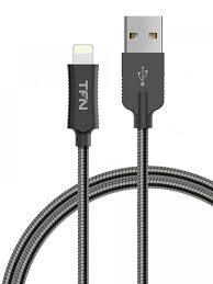 <b>Аксессуар TFN Forza USB</b> microUSB 1m Blue Black TFN ...