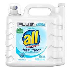 All <b>Free & Clear</b> Plus+ HE Liquid Laundry Detergent, 158 loads, 237 ...