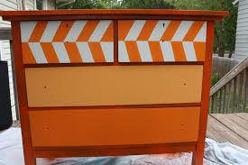 things chevron painted furniture