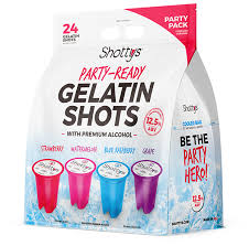 Shottys: The Best Pre-Made Gelatin Shots For Your Next Event