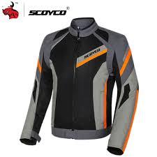 SCOYCO <b>Motorcycle</b> Jacket Summer Mesh Moto Jacket Protective ...