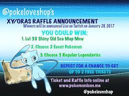 news pokemon love xy oras raffle winners