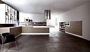 Concrete Floor Kitchen Dark Polished Concrete Floor In Floor Lighting In Concrete Living