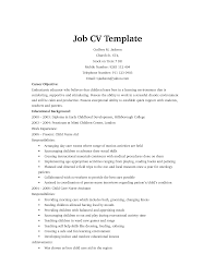 example cv job   resume builder free and printableexample cv job free cv examples templates creative downloadable fully job cv template by sayeds