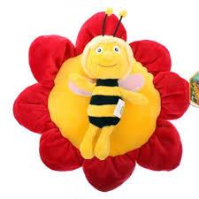 <b>Декоративная</b> подушка Пчелка Майя, 36 см — купить в интернет ...